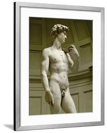 David, 3/4 Profile-Michelangelo Buonarroti-Framed Giclee Print