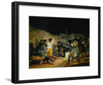 The Third of May, 1808, Painted in 1814-Suzanne Valadon-Framed Giclee Print