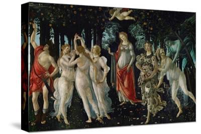 La Primavera (Spring), 1477-Sandro Botticelli-Stretched Canvas Print