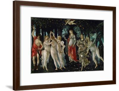 La Primavera (Spring), 1477-Sandro Botticelli-Framed Giclee Print