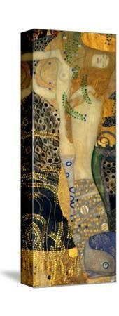 Water Serpents I, c.1907-Gustav Klimt-Stretched Canvas Print