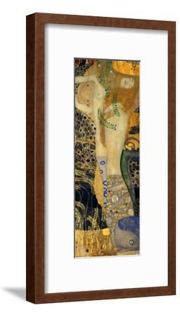 Water Serpents I, c.1907-Gustav Klimt-Framed Giclee Print