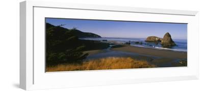 Rocks on the Beach, Cannon Beach, Oregon, USA--Framed Photographic Print