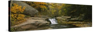 Kaaterskill Falls, Catskill Mountains, New York State, USA--Stretched Canvas Print
