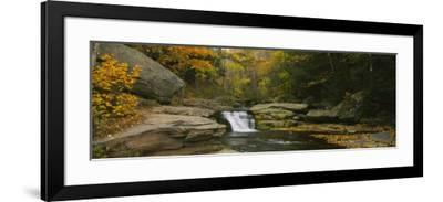 Kaaterskill Falls, Catskill Mountains, New York State, USA--Framed Photographic Print