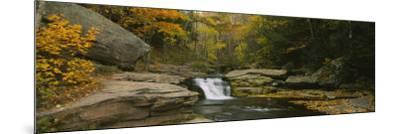 Kaaterskill Falls, Catskill Mountains, New York State, USA--Mounted Photographic Print