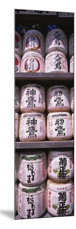 Saki Barrels, Kamakura, Japan--Mounted Photographic Print
