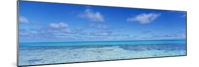 Clouds over the Pacific Ocean, Rangiroa, French Polynesia--Mounted Photographic Print