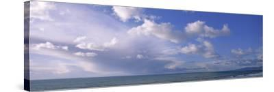 Clouds over Water, Montara, Pacific Ocean, California, USA--Stretched Canvas Print