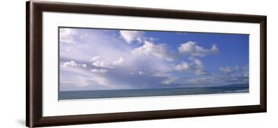 Clouds over Water, Montara, Pacific Ocean, California, USA--Framed Photographic Print