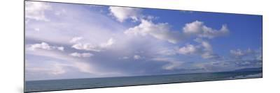 Clouds over Water, Montara, Pacific Ocean, California, USA--Mounted Photographic Print