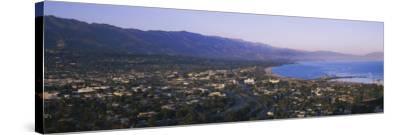 Highway 101, Santa Ynez, Santa Barbara, California, USA--Stretched Canvas Print