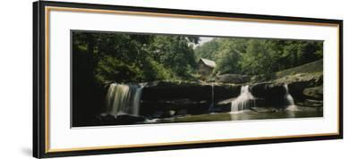 Watermill in a Forest, Babcock State Park, West Virginia, USA--Framed Photographic Print