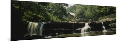 Watermill in a Forest, Babcock State Park, West Virginia, USA--Mounted Photographic Print