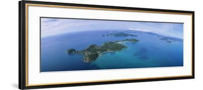 Island, Bay of Islands, North Island, New Zealand--Framed Photographic Print