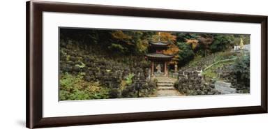 Pagoda, Otagi Nenbutsu-Ji Temple, Kyoto, Japan--Framed Photographic Print