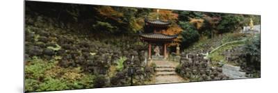 Pagoda, Otagi Nenbutsu-Ji Temple, Kyoto, Japan--Mounted Photographic Print