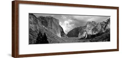 Rock Formations in a Landscape, Yosemite National Park, California, USA--Framed Photographic Print
