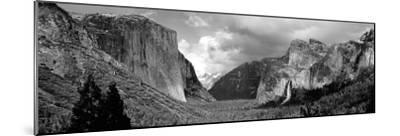 Rock Formations in a Landscape, Yosemite National Park, California, USA--Mounted Photographic Print