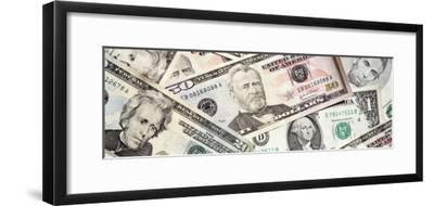 U.S. Paper Currency--Framed Photographic Print