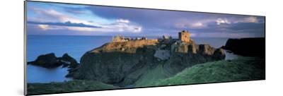 Castle, Stonehaven, Grampian, Aberdeen, Scotland--Mounted Photographic Print