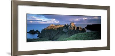 Castle, Stonehaven, Grampian, Aberdeen, Scotland--Framed Photographic Print