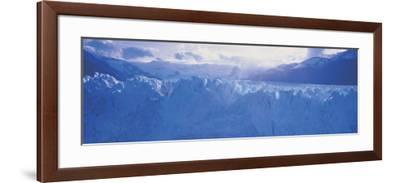 Glacier in a National Park, Moreno Glacier, Los Glaciares National Park, Patagonia, Argentina--Framed Photographic Print