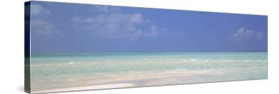 Indian Ocean, Maldives--Stretched Canvas Print