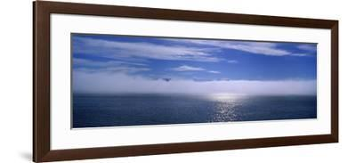 Clouds over the Sea, Hasavak, Fjord, Iceland--Framed Photographic Print