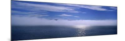 Clouds over the Sea, Hasavak, Fjord, Iceland--Mounted Photographic Print