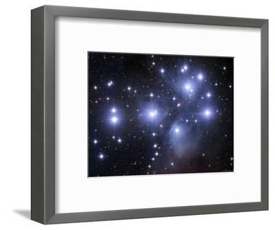 The Pleiades-Stocktrek Images-Framed Photographic Print