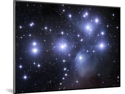 The Pleiades-Stocktrek Images-Mounted Photographic Print