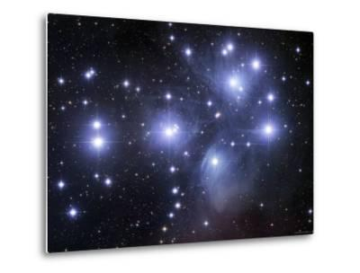 The Pleiades-Stocktrek Images-Metal Print