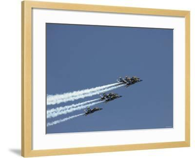 The Blue Angels-Stocktrek Images-Framed Photographic Print