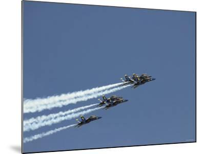 The Blue Angels-Stocktrek Images-Mounted Photographic Print