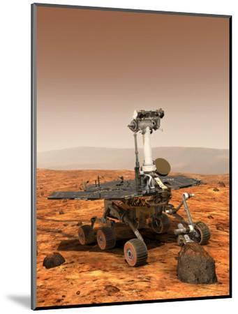 Artists Rendition of Mars Rover-Stocktrek Images-Mounted Photographic Print