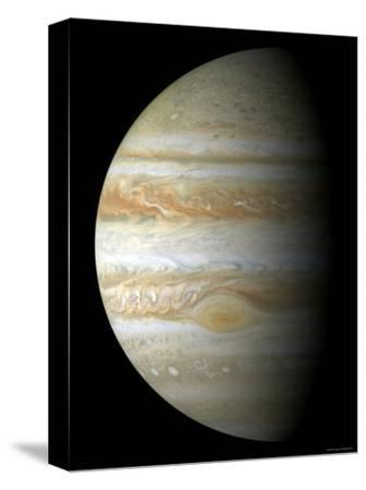 Jupiter-Stocktrek Images-Stretched Canvas Print