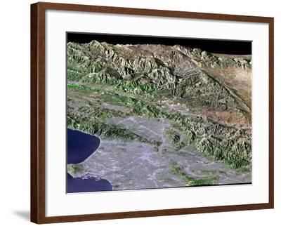 Los Angeles, California-Stocktrek Images-Framed Photographic Print