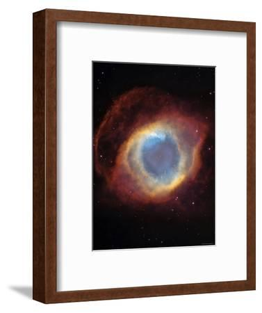 The Helix Nebula-Stocktrek Images-Framed Photographic Print