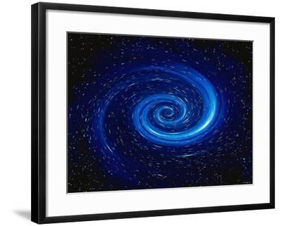 Computer Space Image-Stocktrek Images-Framed Photographic Print