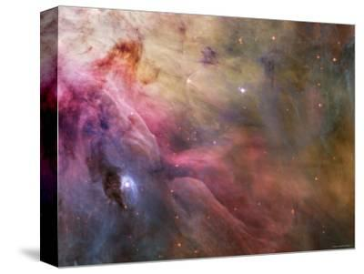 Orion Nebula-Stocktrek Images-Stretched Canvas Print