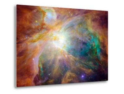 Orion Nebula-Stocktrek Images-Metal Print