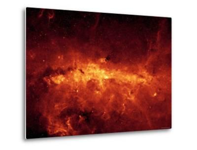 Milky Way-Stocktrek Images-Metal Print