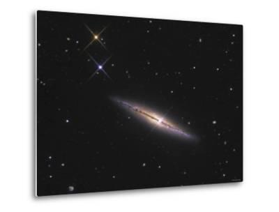 NGC 4013 is an Edge-On Unbarred Spiral Galaxy in the Constellation Ursa Major-Stocktrek Images-Metal Print