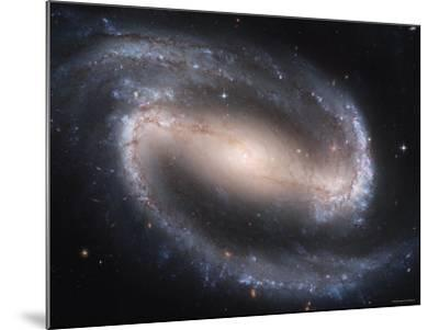 Beautiful Barred Spiral Galaxy NGC 1300, Hubble Space Telescope-Stocktrek Images-Mounted Photographic Print