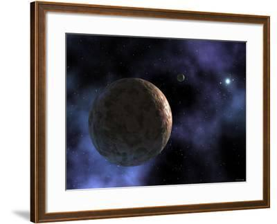 Sedna, the Newly Discovered Planet-Like Object, is Shown at the Outer Edges of the Solar System-Stocktrek Images-Framed Photographic Print