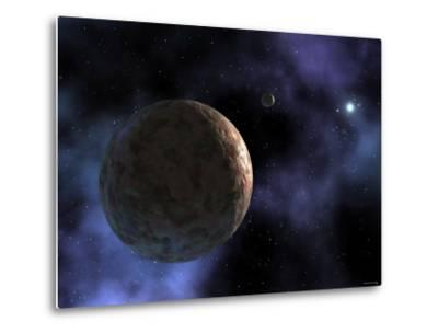 Sedna, the Newly Discovered Planet-Like Object, is Shown at the Outer Edges of the Solar System-Stocktrek Images-Metal Print