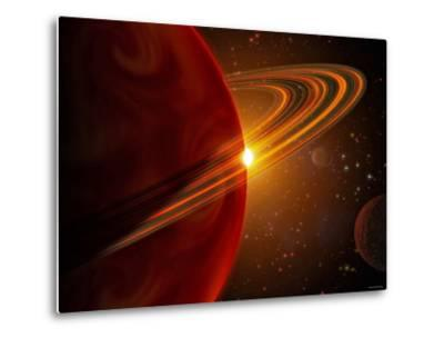 This is an Artist's Concept of Giant Planet Recently Discovered Orbiting the Sun-Like Star 79 Ceti-Stocktrek Images-Metal Print