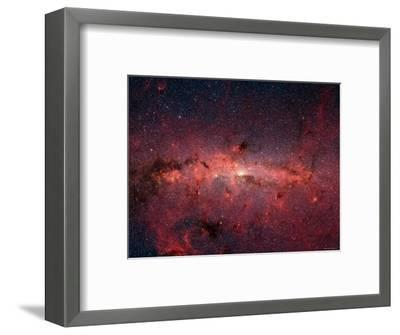 The Center of the Milky Way Galaxy-Stocktrek Images-Framed Photographic Print