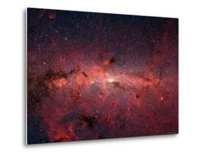 The Center of the Milky Way Galaxy-Stocktrek Images-Metal Print